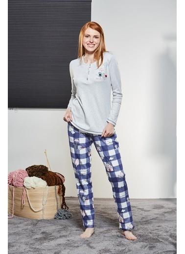 Pjs Pijama Takım Gri